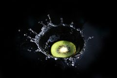 Kiwi Splash Stock Images
