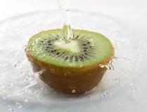 Kiwi splash Royalty Free Stock Photos