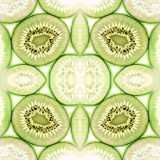 Kiwi star background Stock Images