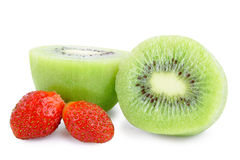 Kiwi and strawberry Royalty Free Stock Image