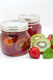 Kiwi and Strawberry Jam Royalty Free Stock Photo