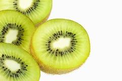Kiwi su fondo bianco immagine stock