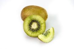 Kiwi su fondo bianco Immagini Stock Libere da Diritti