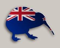 Kiwi su gray Fotografie Stock Libere da Diritti