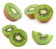 Kiwi sur le blanc photographie stock
