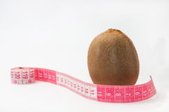 Kiwi with tape measure Stock Photography