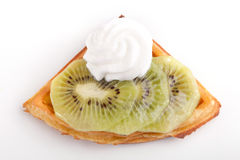 Kiwi Tart Slices Royalty Free Stock Photos