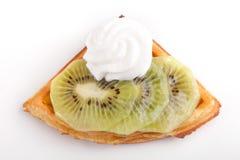 Kiwi Tarta Plasterki Zdjęcia Royalty Free