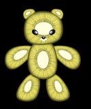 Kiwi teddy bear Stock Image