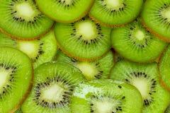 Kiwi texture green background Royalty Free Stock Photo