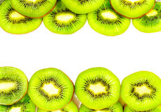 KIwi texture with space for text Royalty Free Stock Photography