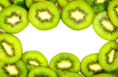 KIwi texture with space for text Royalty Free Stock Photos