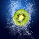 Kiwi under water Royalty Free Stock Images