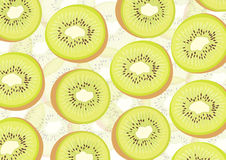 Kiwi vector Stock Image