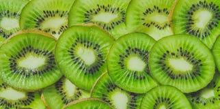 Kiwi verde jugoso foto de archivo