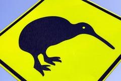 Kiwi wandering sign. Seen on North Island, New Zealand royalty free stock photo