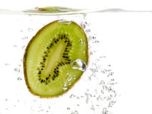 Kiwi in water Royalty Free Stock Photo
