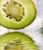Kiwi  in the water Royalty Free Stock Photos