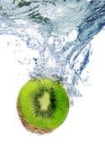 Kiwi in water Royalty-vrije Stock Fotografie