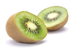Kiwi on white royalty free stock photo