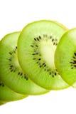 Kiwi on white Stock Images