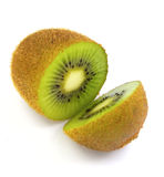 Kiwi on white Stock Photography