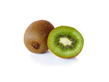 Kiwi  on a white background Royalty Free Stock Images