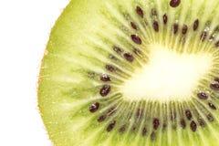Kiwi on white background. close-up Stock Images