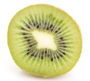 Kiwi on white background. close-up Stock Photos