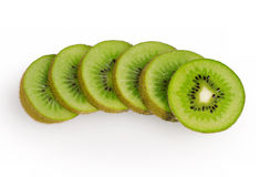 Kiwi on white background Royalty Free Stock Image