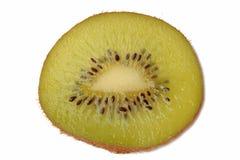 Kiwi on white. Slice Kiwi on white background Stock Photo