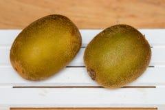Kiwi Yellow and Green. Royalty Free Stock Photos