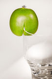 Kiwiberry com vidro Fotografia de Stock