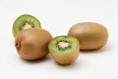 Kiwifrüchte getrennt auf weißem Hintergrund Stockbilder