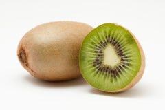 Kiwifrüchte getrennt auf weißem Hintergrund Lizenzfreies Stockfoto