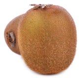 Kiwifrucht auf weißem Hintergrund stockfotos