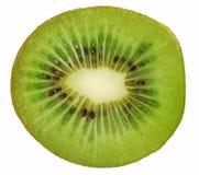 Kiwifrucht getrennt über Weiß Stockfotografie