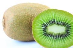 Kiwifrucht getrennt Stockfotografie