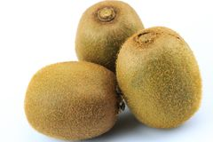 Kiwifrucht getrennt Stockbild