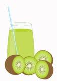 Kiwifruchtsaft Stockbild