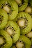 Kiwifruchtscheiben stockfoto