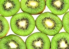 Kiwifruchtscheiben Lizenzfreie Stockbilder