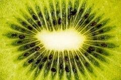 Kiwifruit or Chinese gooseberry (detail) Royalty Free Stock Images