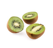 Kiwifruit composition of kiwi isolated Stock Photos