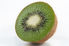 Kiwifruit halb Stockfotos