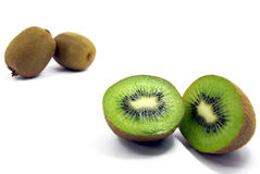 Kiwifruit isolated Stock Photography
