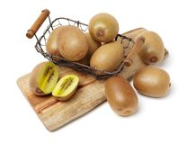 kiwifruit Isolato immagine stock libera da diritti