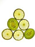 Kiwifruit and Lemon Stock Photo
