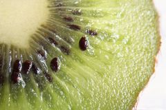 Kiwifruit macro Stock Photo