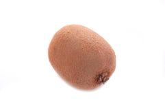 Kiwifruit non sbucciato isolato su bianco fotografie stock